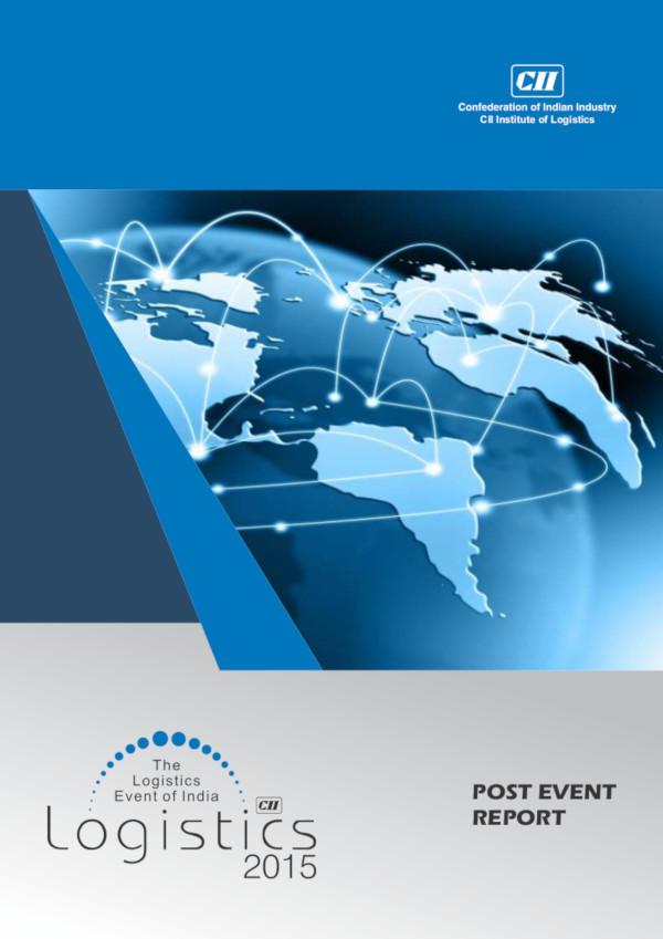 CII Logistics : Date : 3 to 5 February 2019, Venue : Pragati